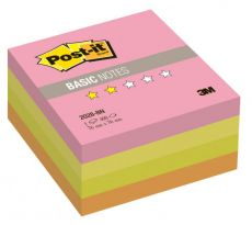 Блокнот 3M 2028-BN Post-it Basic неон 76х76мм 400л (7100041019)