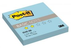 Блокнот 3M 654R-BB Post-it Basic голубой 76х76мм 100л (7100058136)